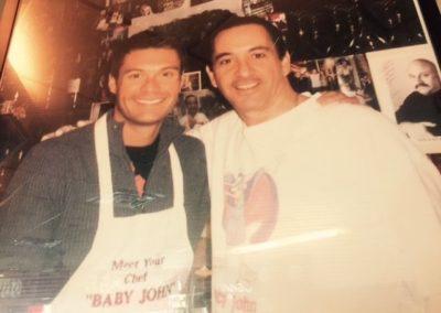Caffe Palermo Baby John DeLutro NYC Celebrity Hangout Ryan Seacrest