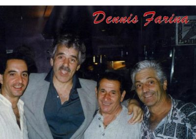Caffe Palermo Baby John DeLutor Celebrity Dennis Farina