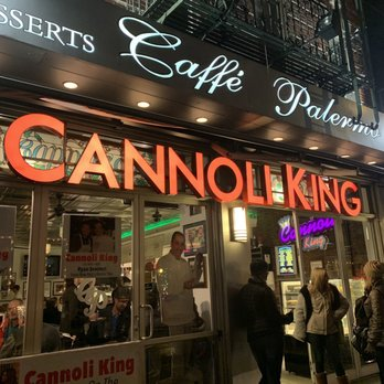 Caffe Palermo Cannoli King Serves Lunch and Dinner