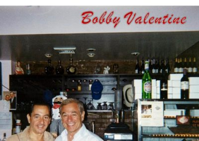 Caffe Palermo Celebrity Hangout New York City Bobby Valentine