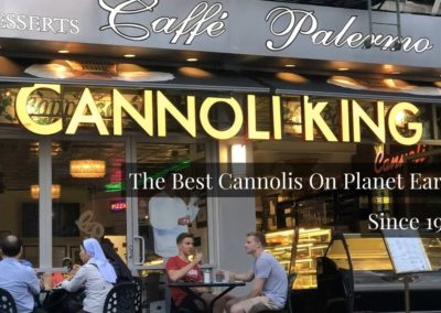 Cannoli King Caffe Palermo New York City Excellent Dining Experience