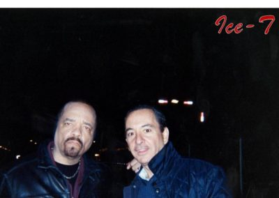 NYC Baby John DeLutro Cannoli King Celebrity Ice T